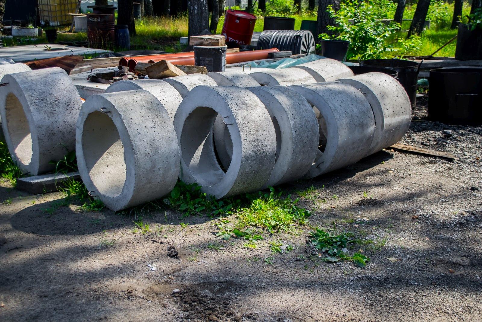 komin szamba betonowego