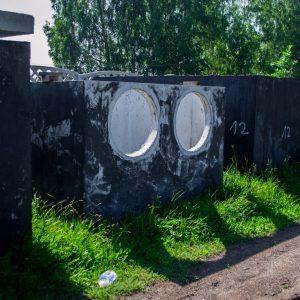 zbiornik betonowy na wodę opadową