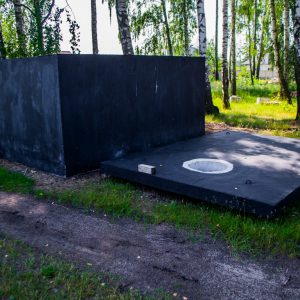 betonowy zbiornik na desczówkę